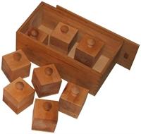 Kép Súlyfelismerő kocka (súlydobozok)